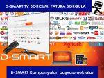 D-SMART TV Fatura Sorgulama ve Ödeme