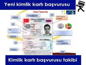 yeni akıllı tc kimlik kartları