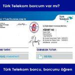 Türk Telekom Borç Sorgulama
