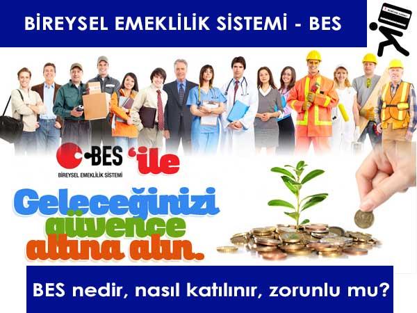 BES, Bireysel Emeklilik Sistemi