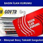 Basın İlan Kurumu, resmi ilan sitesi