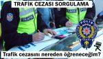 Trafik cezası borç sorgulama