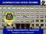Azərbaycan Vergi Borcu Oyrenme