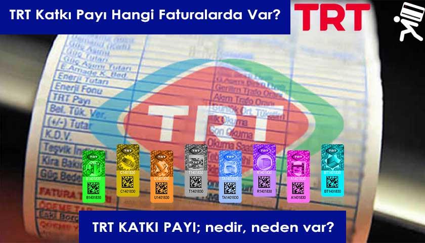 TRT Katkı Payı
